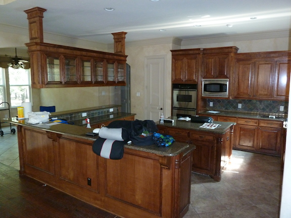 Before Complete Kitchen Remodeling Project